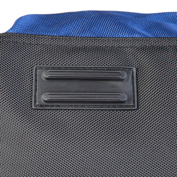 Sparco Blue Gym and Travel Bag - S6_BLU, Bottom Closeup, Blue