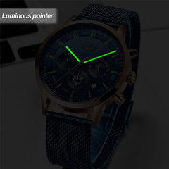 LIGE Mens Luxury Sports Watch, lighting, all SKUs