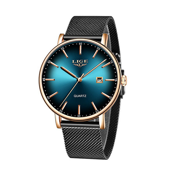 LIGE Womens Simple Elegance Watch, 30M Waterproof