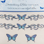 Temporary Something Blue Tattoos - Gifts Are Blue - 2