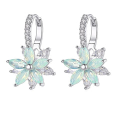 Womens AAA Cubic Zirconia Earrings with Gift Box