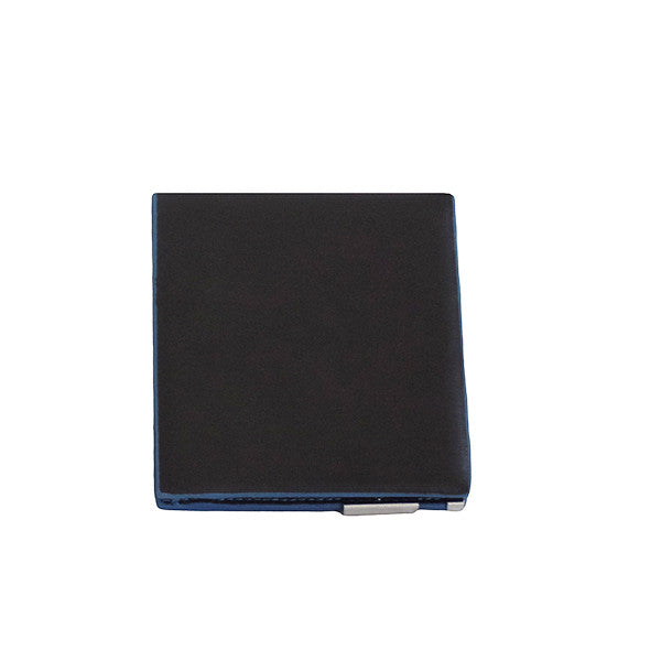 Mens Slim Blue Edge Bi-Fold Wallet - Gifts Are Blue - 2