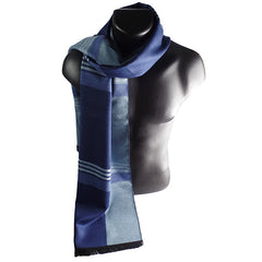 Mens Elegant Fashion Winter Scarves - Gifts Are Blue - 3