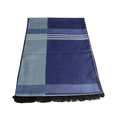 Mens Elegant Fashion Winter Scarves - Gifts Are Blue - 7