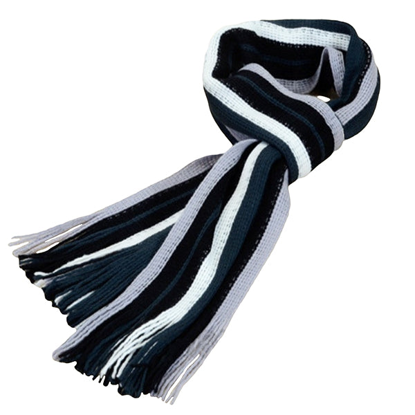 Winter and Fall Cashmere Feel Blue Mens Scarf