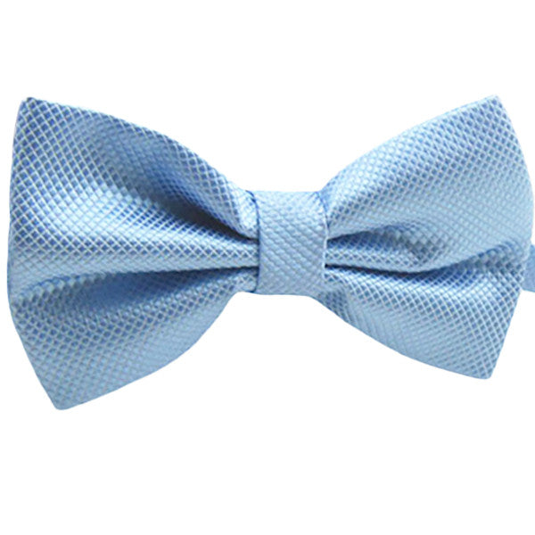 Mens Pre-Tied Blue Bow Tie for Formal Events - Gifts Are Blue - 1