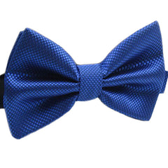 Mens Pre-Tied Blue Bow Tie for Formal Events - Gifts Are Blue - 5