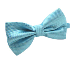 Mens Pre-Tied Blue Bow Tie for Formal Events - Gifts Are Blue - 6