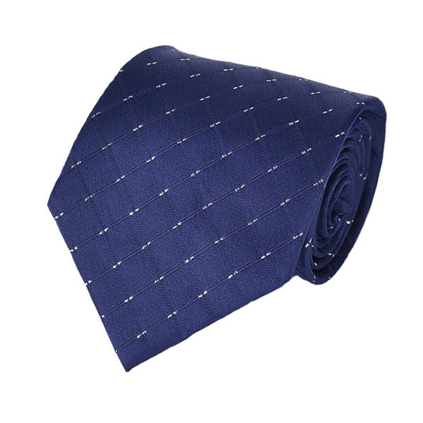 Mens Formal Slim Arrow Designer Blue Tie, SA18