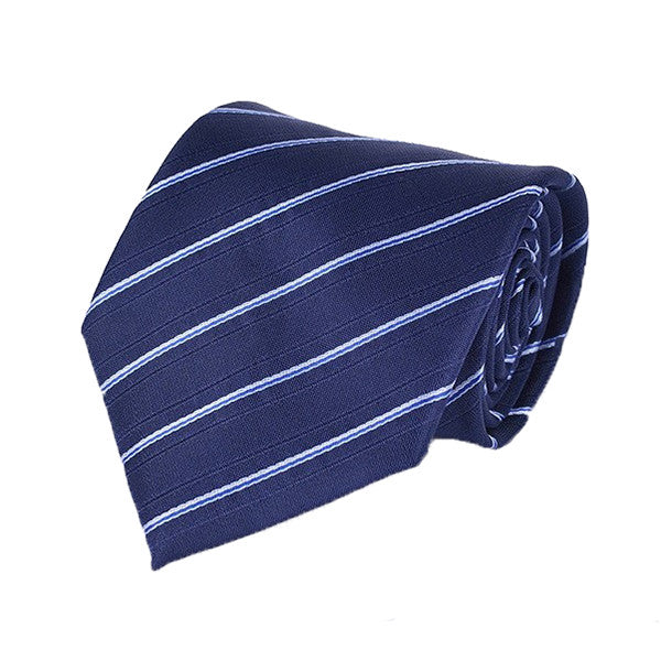 Mens Formal Slim Arrow Designer Blue Tie, SA29