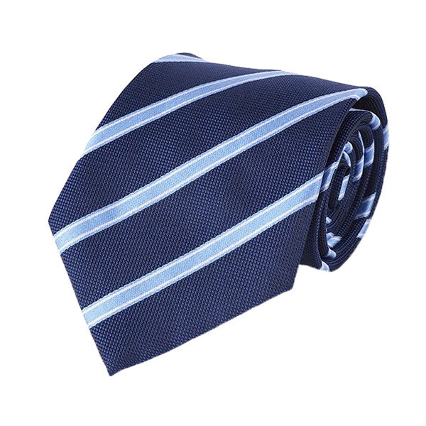 Mens Formal Slim Arrow Designer Blue Tie, SA32 - Gifts Are Blue