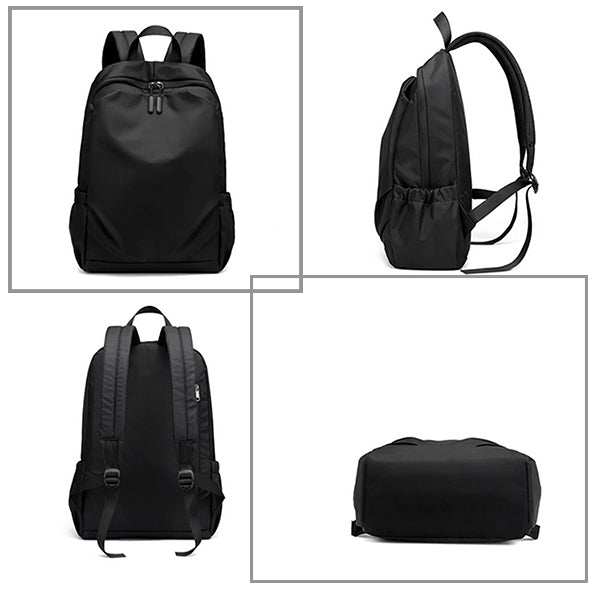 Mens Large Capacity Laptop Waterproof Backpack for Travel and School