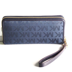 Michael Kors Jet Set Travel Continental Wristlet Wallet - Gifts Are Blue - 3