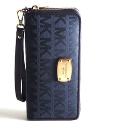 Michael Kors Jet Set Travel Continental Wristlet Wallet - Gifts Are Blue - 2