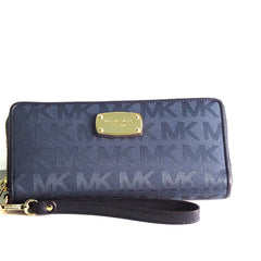 Michael Kors Jet Set Travel Continental Wristlet Wallet - Gifts Are Blue - 1