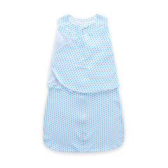 Soft Jersey Cotton Baby Sleeping Sack - Gifts Are Blue - 2