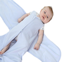 Soft Jersey Cotton Baby Sleeping Sack - Gifts Are Blue - 3