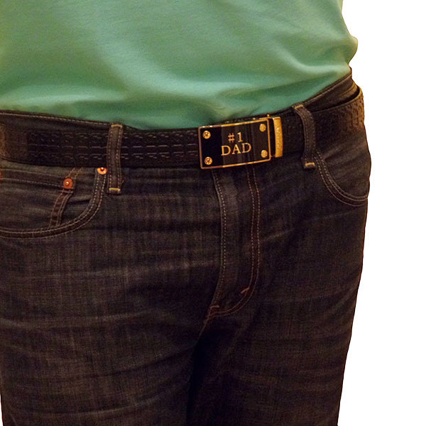 FEDEY Mens Gift Set with No. 1 Dad Ratchet Belt and Xtra Cowboy Buckle, Model, all SKUs
