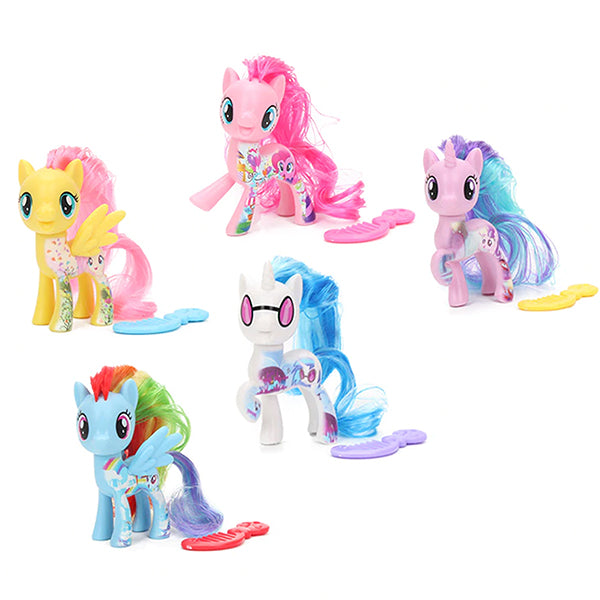 My Little Pony The Movie Friends 5 Piece Bundle Lot - 3 in Pony Toys