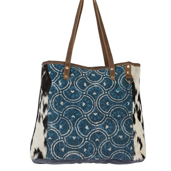 Dainty Lady Tote Bag, Large, Myra Bags, S-2184, Alt view
