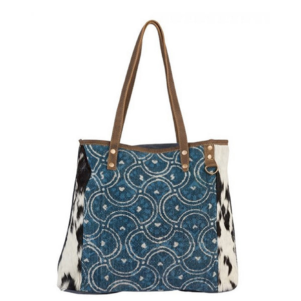 Dainty Lady Tote Bag, Large, Myra Bags, S-2184, Main