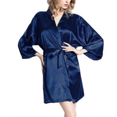 Bride Robe with Rhinestones, M, XL, 2XL - Gifts Are Blue - 3