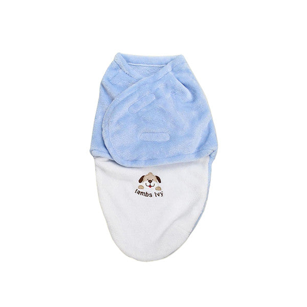 Newborn Baby Swaddle Envelope Wrap by Carter's - Gifts Are Blue - 1