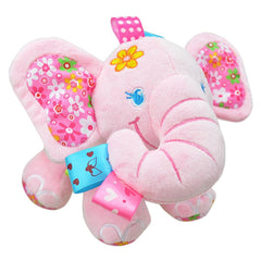 Cute Plush Lullaby Musical Elephant for Baby - Gifts Are Blue - 3