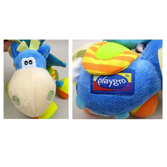 Bed Mobile or Stroller Toy Donkey Rattle for Baby - Gifts Are Blue - 3
