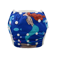 Leakproof Washable Reusable Swim Diapers For Kids 0 to 3 Years - Gifts Are Blue - 11