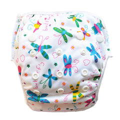 Leakproof Washable Reusable Swim Diapers For Kids 0 to 3 Years - Gifts Are Blue - 4