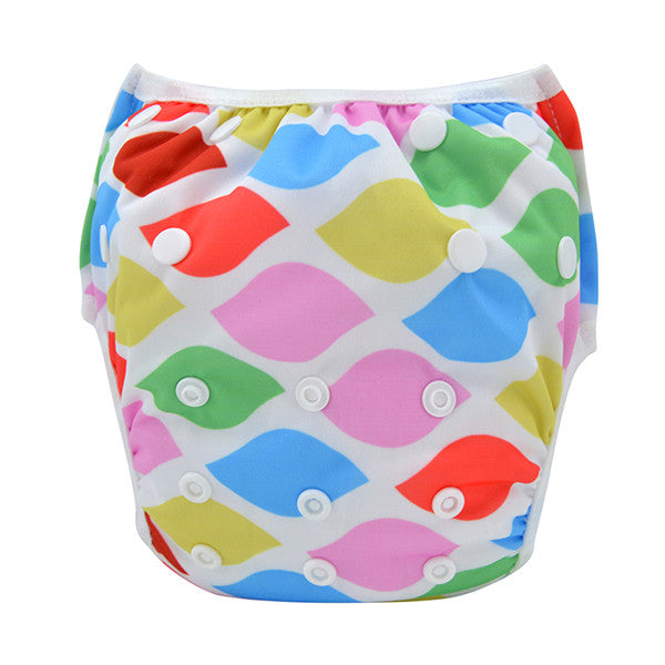 Leakproof Washable Reusable Swim Diapers For Kids 0 to 3 Years - Gifts Are Blue - 12