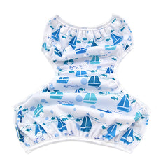 Leakproof Reusable Swim Diapers, 3 Pack Variety Bundle, 0 to 2 years