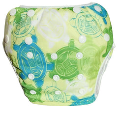 Leakproof Washable Reusable Swim Diapers For Kids 0 to 3 Years - Gifts Are Blue - 8