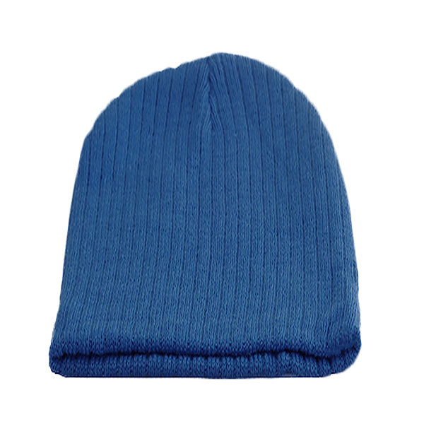 Little Kids Blue Beanie Hat
