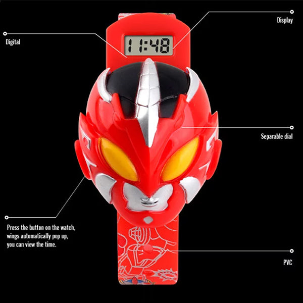 SKMEI Boys Cartoon Hero Digital Watch for Ages 3 to 7, 1239, Details, all SKUs