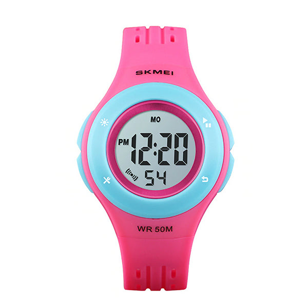 SKMEI Classic Children Digital Watch, 50M Waterproof, Main, Rose Pink
