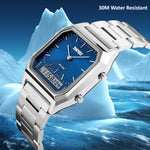 SKMEI Mens Fashionable Watch, Dual Analog w Digital - Waterproof, all SKUs