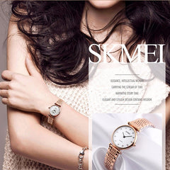 SKMEI Womens Elegant Fashion Watch w Rhinestones, Model, all SKUs