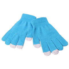 Unisex Touch Gloves for Smartphones and Tablets - Gifts Are Blue - 4