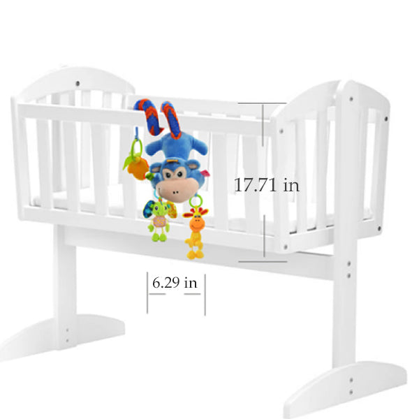 Sozzy Plush Baby Toy Hanging Monkey for Crib or Stroller, Measurements
