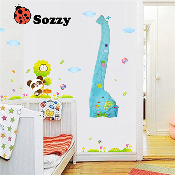 Child Growth Chart Height Measurement Ruler And Wall Dcor For