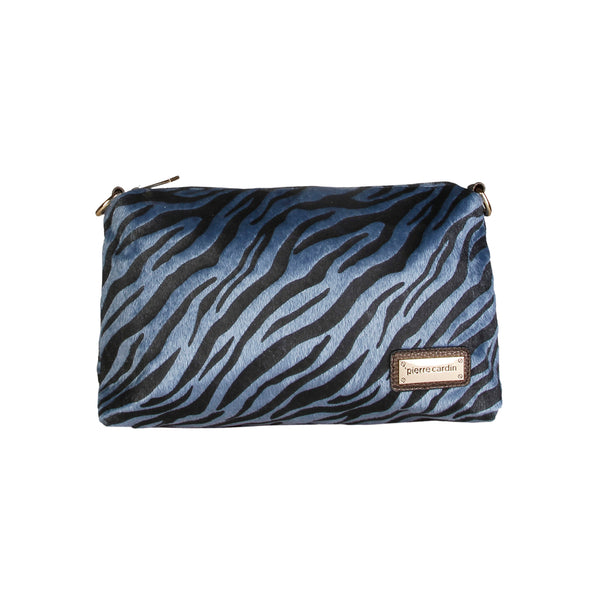 Pierre Cardin Blue Clutch Purse - RY09_80522_NERO-BLU