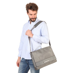 Trussardi Briefcase and Messenger Style Laptop Bag - 71B987T