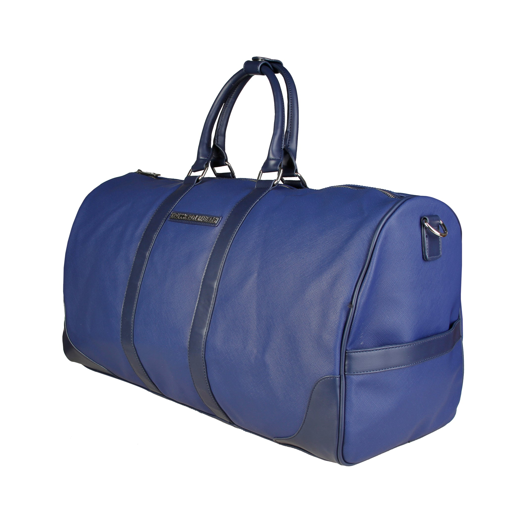 Trussardi Large Blue Saffiano Travel Bag - 71B993T_BLU
