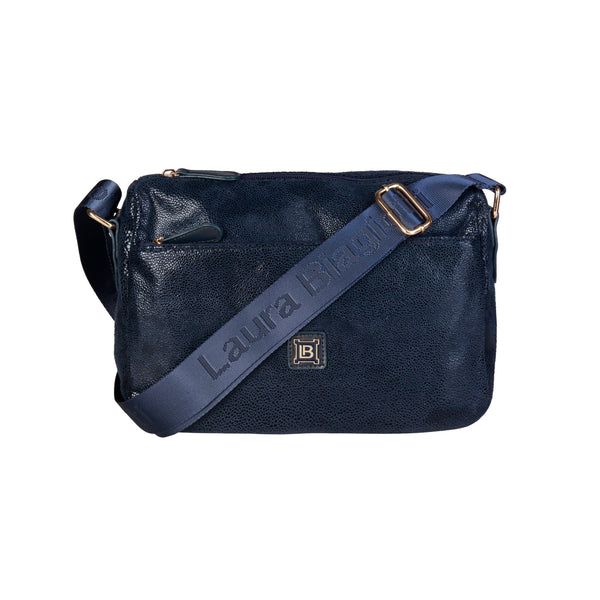 Laura Biagiotti Dark Blue Crossbody Bag - LB17W100-24