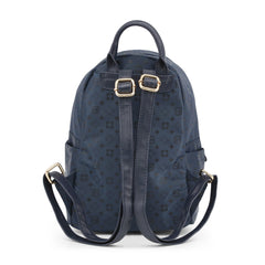 Laura Biagiotti Womens Rucksacks LB18S101-28, Back, Blue