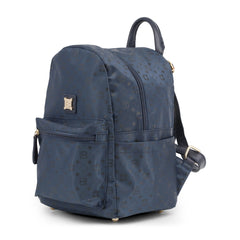 Laura Biagiotti Womens Rucksacks LB18S101-28, Sideview, Blue