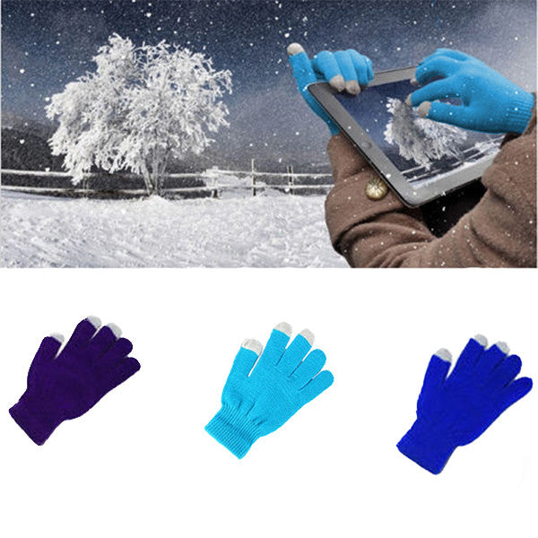 Unisex Touch Gloves for Smartphones and Tablets