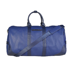 Trussardi Large Blue Saffiano Travel Bag - 71B993T-BLU